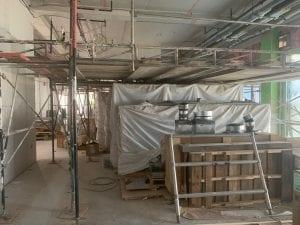 Senior Living Sonnet Hill San Jose under construction interior