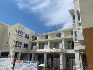 Senior Living Sonnet Hill San Jose under construction front exterior